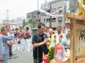 大阪城公園的鄰鎮的花車92.wmv